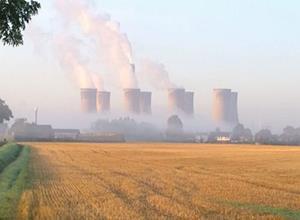 英国约克郡即将关闭营业48年的煤电站
