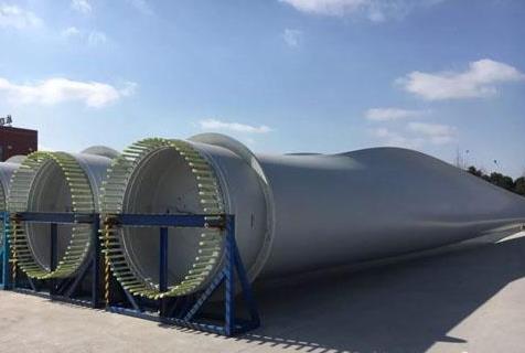 83.6米!国内最长海上风电叶片在如东下线