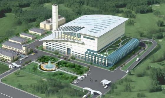 广西玉林首座生活垃圾焚烧发电厂正式并网发电