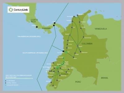 CenturyLink推出哥伦比亚-厄瓜多尔海底光缆系统