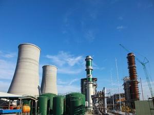 陕西富平热电工程1号机组首次并网一次成功