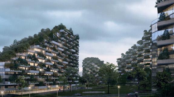 全球首座垂直森林城市将于2020年启用