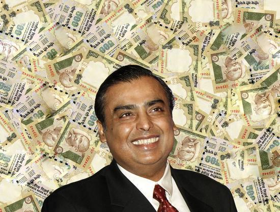 印度首富联手科技巨头 投资逾90亿美元建综合工业区