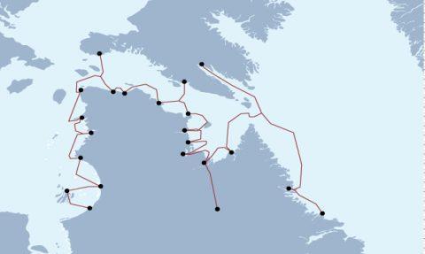 东部北极海底光纤网络即将进行电缆路径调查