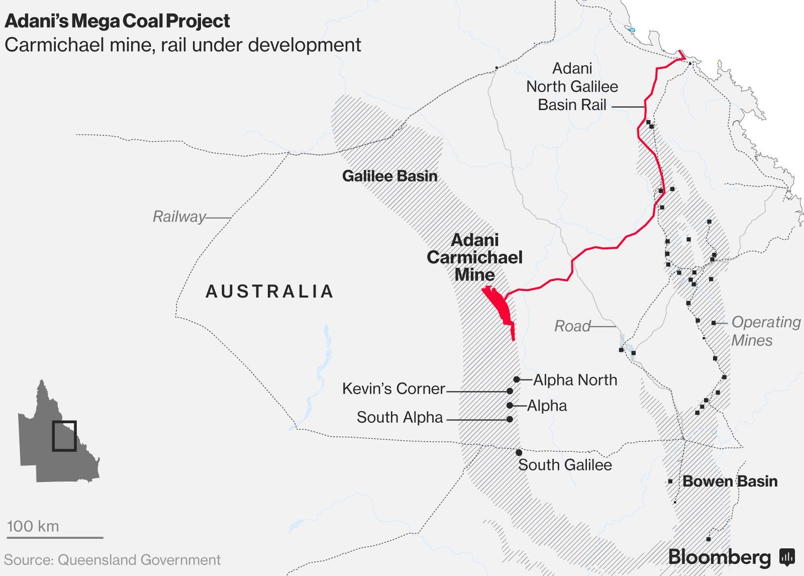 融资延迟 阿达尼拟售澳洲煤炭项目少数股份自救