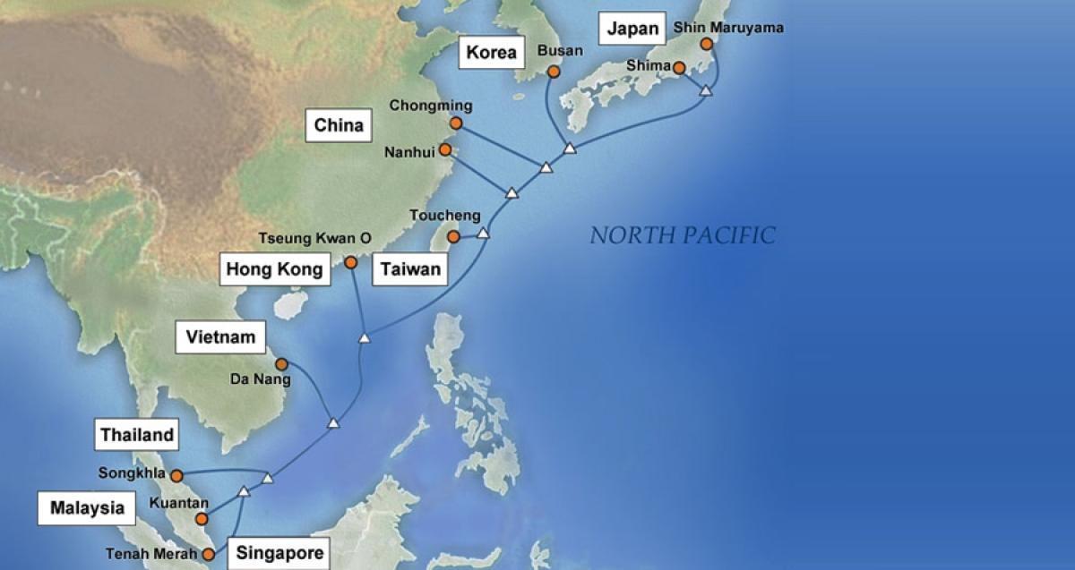 APG海底光缆系统越南-香港段发生故障