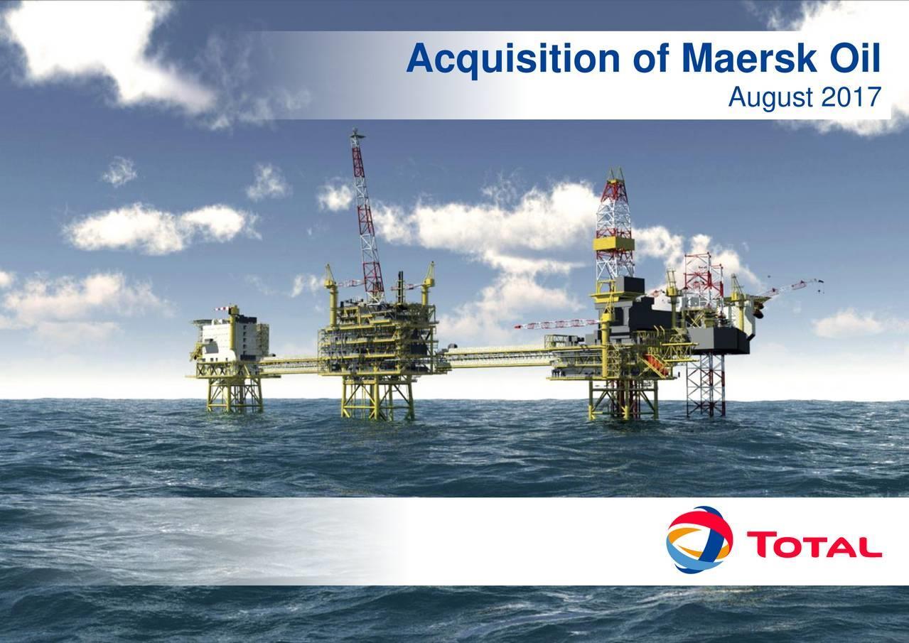 道达尔收购马士基石油获丹麦当局有条件批准