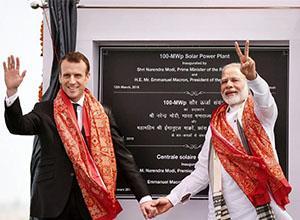 法国与印度合作建设太阳能发电厂