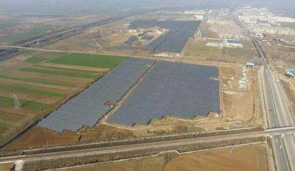 林洋能源携手中广核打造全球最大N型单晶双面光伏电站