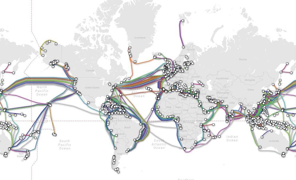外媒曝俄罗斯海军或成中东海底光缆安全威胁
