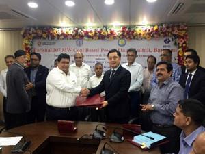 中国电建与孟加拉签订巴瑞萨350MW燃煤电站项目