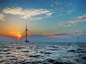 国家电投江苏滨海北H2#400MW海上风电首台机组并网