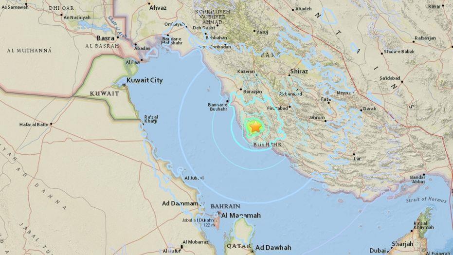 伊朗南部发生5.9级地震 核电站运营未受影响