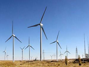 国华投资乌兰400兆瓦风电项目160台风机并网发电