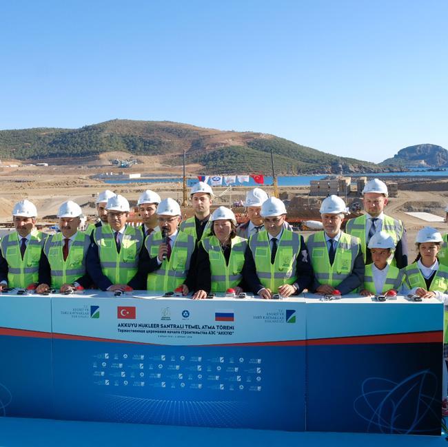 土耳其首个核电站开工建设 装机容量达4.8GW