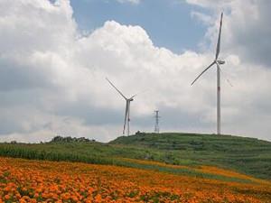 豫东地区首个平原风电场项目正式奠基 总投资达8亿元