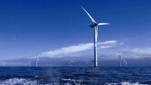 亚洲最大海上风电场100台风电机组全部吊装完成
