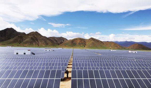 环县20兆瓦光伏扶贫发电站并网运营