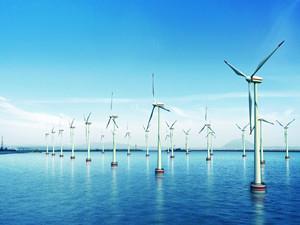 华电重工滨海北H2号海上风电100台风机全部吊装完成