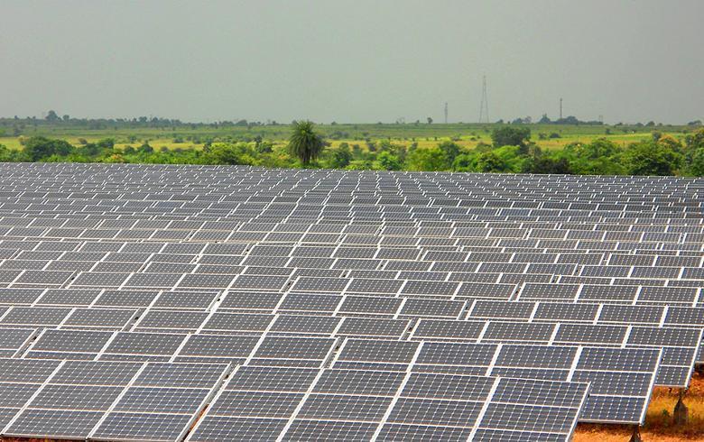 2017/18财年印度太阳能发电量同比增长92%