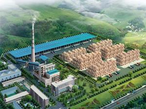 辽宁亿金3亿元生物质热电联产项目奠基开工