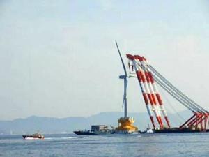 日本研发的漂浮式海上风机专用安装船揭开神秘面纱