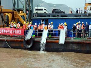 浙江省首个海上风电场举办增殖放流活动