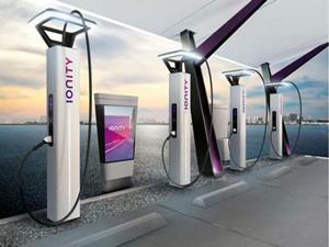 宝马设计工作室被委托为Ionity设计电动汽车充电桩