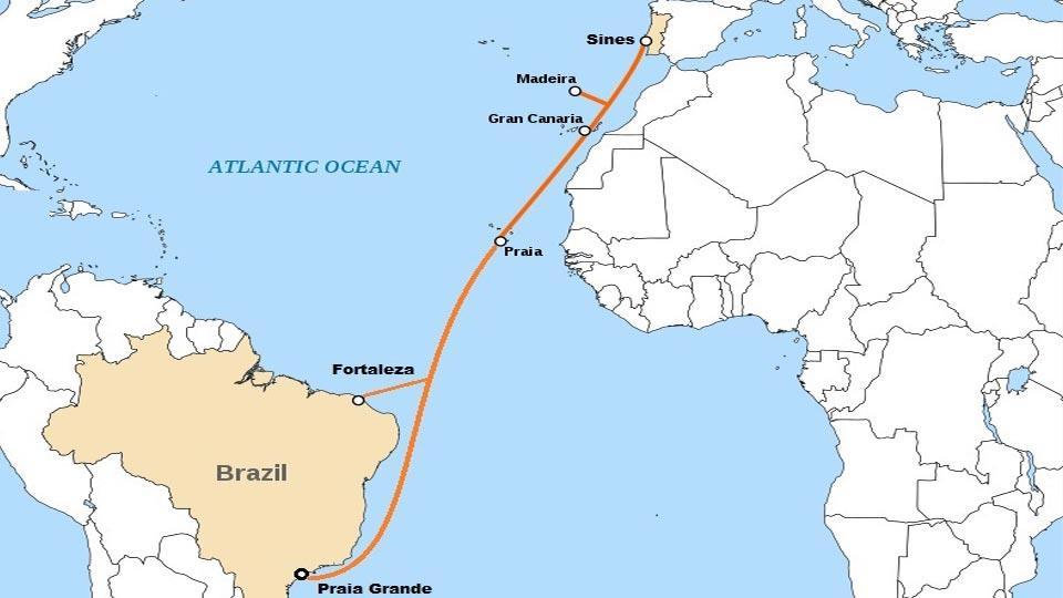 首条拉美-欧洲海缆EllaLink将登陆马德拉群岛