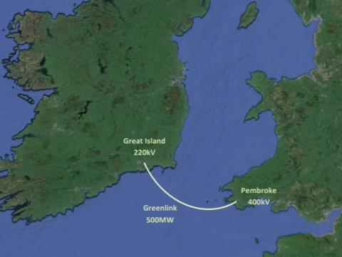 威尔士-爱尔兰Greenlink电力互联将进行最终评估