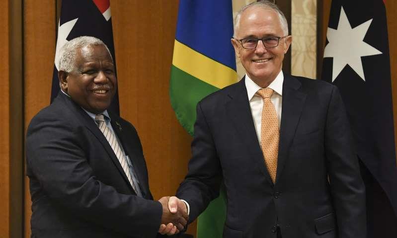 忌惮中国影响力 澳洲政府援建所罗门群岛海底光缆