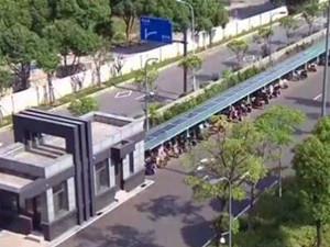 首座智慧型新能源车棚落户江苏江阴