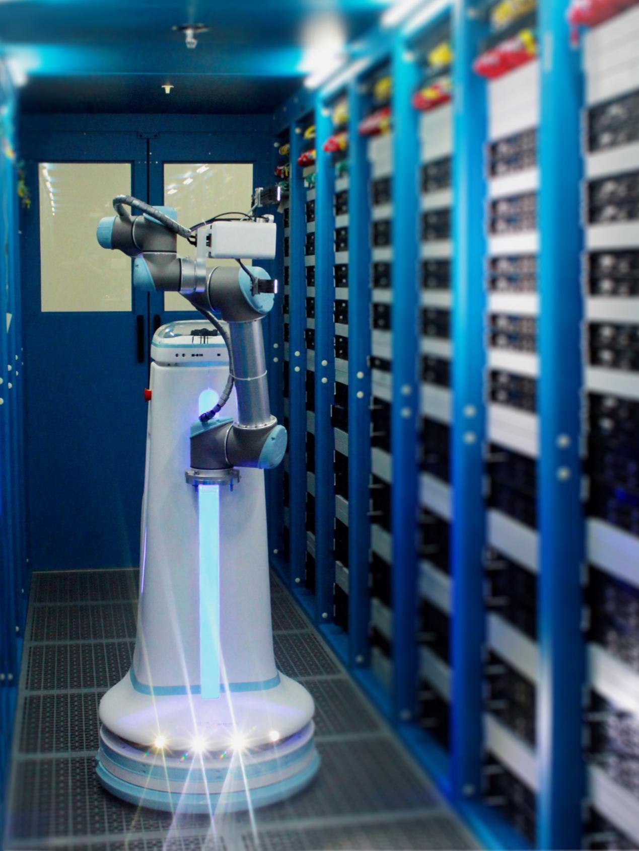 京东金融发布智能巡检机器人