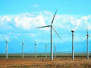 广西桂林石板岭风电场全部投产发电