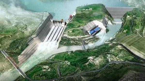 """助力""""一带一路""""首个水电项目建设"""