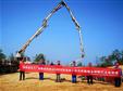 中广核江西赣县高峰山30MW风电项目基础浇筑全部完成