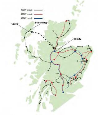 苏格兰西部群岛海底电缆项目提交最终需求案例