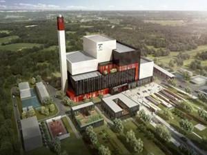 库尔勒市城市生活垃圾焚烧发电项目将在年底竣工