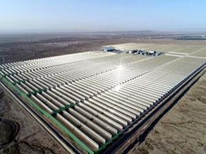 全国首个大型商业化槽式光热发电项目顺利联合调试