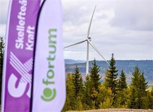 Solberg风力发电场正式在瑞典开业
