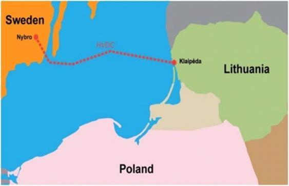 立陶宛-瑞典海底电力电缆NordBalt重新投运