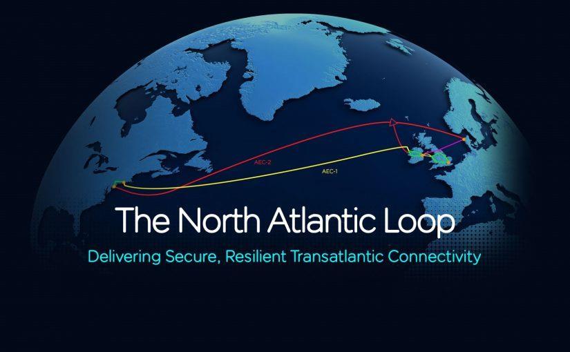 環大西洋海底光纜系統啟動路徑調查