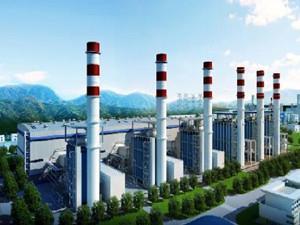 陕西省富平县热电联产集中供热正式开始
