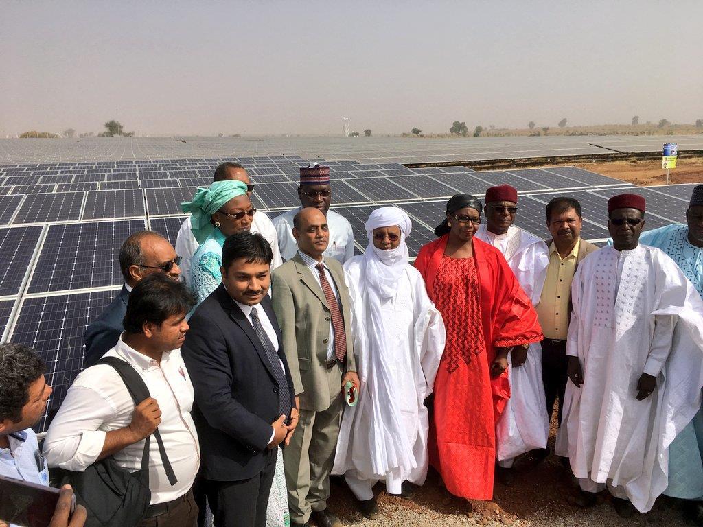 尼日尔首座太阳能发电站顺利投产