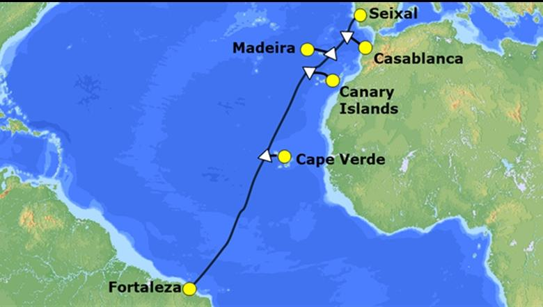 日本nec承建拉丁美洲-欧洲海底光缆wasace1