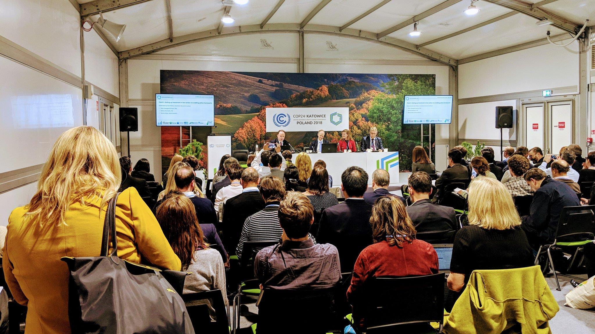 全球415位投资商呼吁各国加强自主贡献应对气候变化
