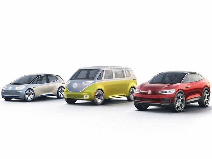 大众高端电动汽车将竞逐特斯拉