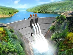 水电十局承建的老挝南立1水电站成功下闸蓄水