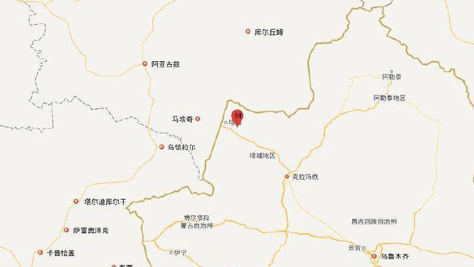 新疆塔城5.2级地震 震中电力和通信正常