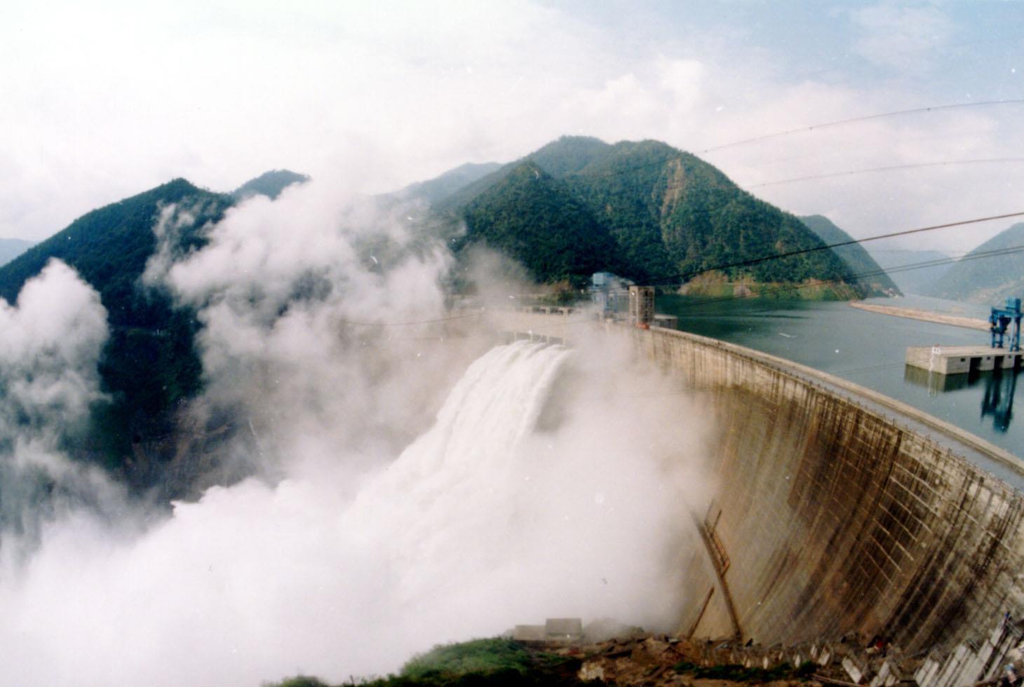 峡江水电站年发电量突破2亿千瓦时